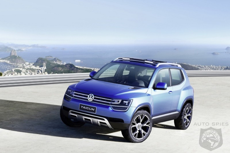 VW Debuts Up! Based Subcompact SUV Concept At 2012 São Paulo International Motor Show